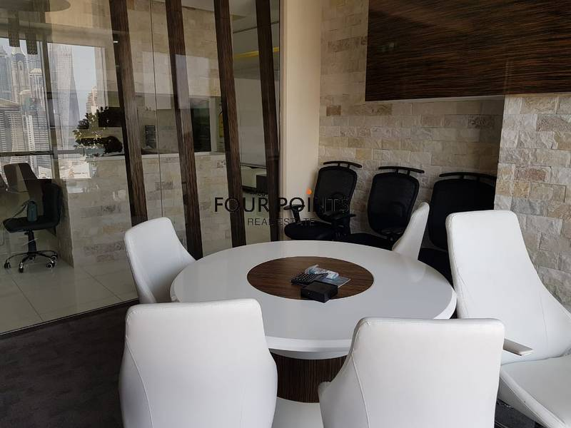 2 Amazing Fitted Office in Marina Plaza for Sale
