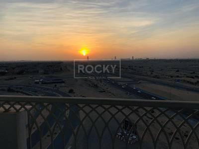 1 Bedroom Flat for Rent in Dubai Residence Complex, Dubai - HUGE 1 Bedroom Flat | with 2 Balconies and 2 Baths | Ajmal Sarah Tower