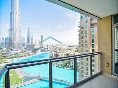 3 Bed | Full Fountain & Burj Khalifa View