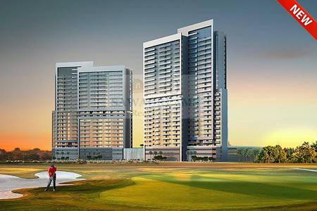 Studio for Sale in DAMAC Hills (Akoya by DAMAC), Dubai - Studio Apartment overlooking the Golf Cousre! ost Handover Payment Plan!