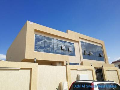 5 Bedroom Villa for Rent in Halwan Suburb, Sharjah - Br. New 5 BHK VIlla with big majlis, living dining, Sp. a/c , covd parking, balcony, store, laundry