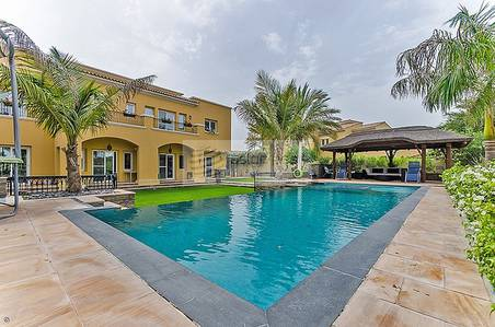 6 Bedroom Villa for Sale in Arabian Ranches, Dubai - Upgraded Type 13 | Full Golf Course View