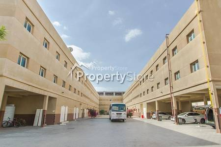 Labour Camp for Rent in Dubai Investment Park (DIP), Dubai - 4 Approved Capacity PER Room |  2400 AED