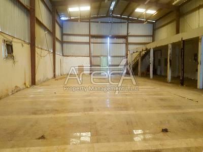 Warehouse for Rent in Al Mina, Abu Dhabi - Semi Fitted Warehouse for Rent in Al Mina Area!