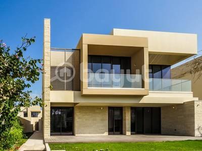 4 Bedroom Villa for Rent in Saadiyat Island, Abu Dhabi - Nice Landscaped Garden! 4BR+M Huge Balcony w/ Sea View