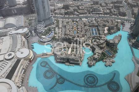 4 Bedroom Apartment for Rent in Downtown Dubai, Dubai - Exclusive Penthouse with Full Fountain View