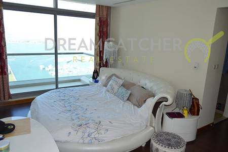 3 Bedroom Flat for Sale in Dubai Marina, Dubai - Three bedroom sea view Iris Blue furnished
