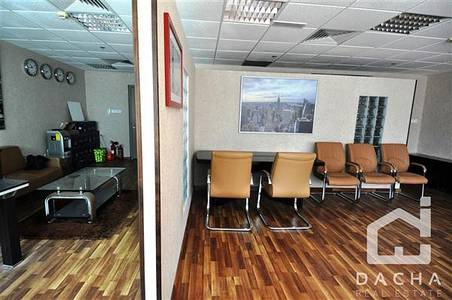 Office for Rent in Jumeirah Lake Towers (JLT), Dubai - Beautiful fitted and furnished office