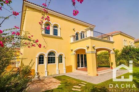 3 Bedroom Villa for Rent in Jumeirah Park, Dubai - District 7 - 3 Bed + Maids Legacy Large