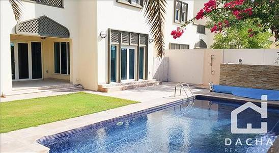 3 Bedroom Villa for Rent in Jumeirah Park, Dubai - Beautiful 3 Bed Regional with Pool