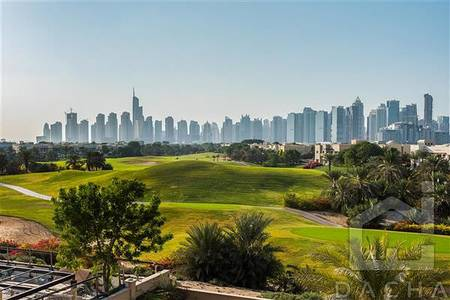 6 Bedroom Villa for Rent in Emirates Hills, Dubai - Luxury villa / Golf course views