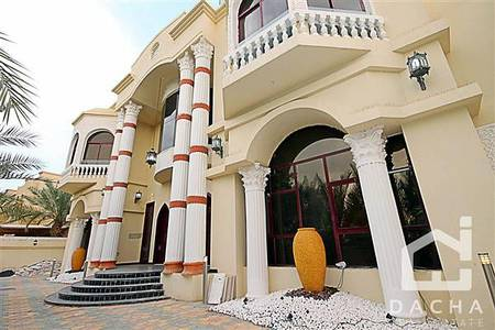 6 Bedroom Villa for Rent in Emirates Hills, Dubai - Available 7BR villa in Emirates Hills