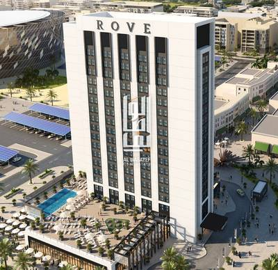 1 Bedroom Hotel Apartment for Sale in Jumeirah, Dubai - Own your room in hotel front of BURJ  KHALIFA with 77000 aed down payment
