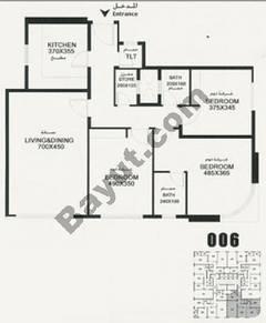 Flat 006 Floorplan