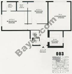Flat 003 Floorplan