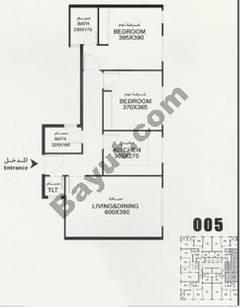 Flat 005 Floorplan