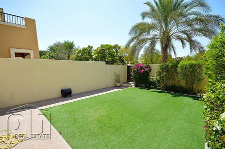 2 Bedroom Townhouse for Rent in Arabian Ranches, Dubai - Single Row 4M - Facing Lake and Park - Vacant Feb