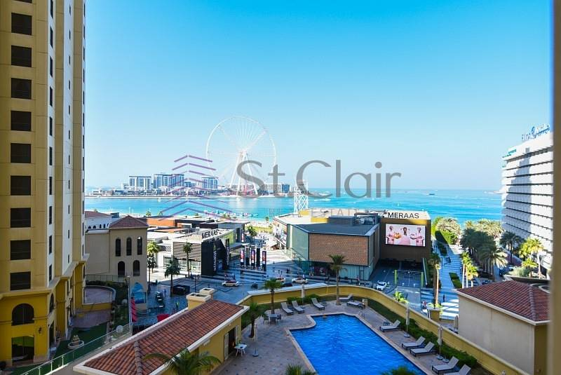2 3BR Panoramic Sea & Dubai Eye View Bahar 2