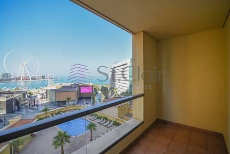 3 Bedroom Apartment for Rent in Jumeirah Beach Residence (JBR), Dubai - 3BR Panoramic Sea & Dubai Eye View Bahar 2