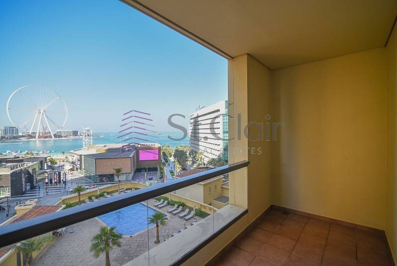 1 3BR Panoramic Sea & Dubai Eye View Bahar 2