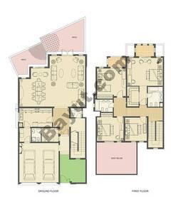 4 bedroom villa- 3120sqft