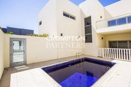 4 Bedroom Villa for Rent in Al Salam Street, Abu Dhabi - Spacious Modern Villa with Private Pool