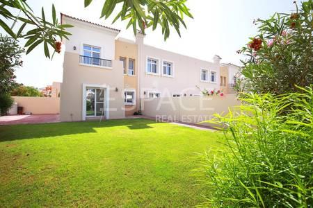 2 Bedroom Villa for Sale in Arabian Ranches, Dubai - Alma 2 - End Unit with Huge Private Plot