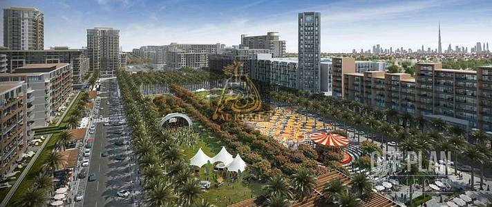 2 Bedroom Apartment for Sale in Town Square, Dubai - Luxurious 2BR Apartment for sale in Town Square Dubai | On Affordable Price | Community Views