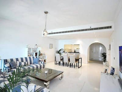 شقة 2 غرفة نوم للبيع في نخلة جميرا، دبي - Price reduced. Full upgraded. Full sea view