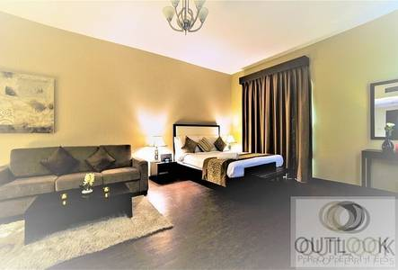Studio for Rent in Al Barsha, Dubai - Pay 12 Chq. | Furnished | Free Cleaning + Maintenance