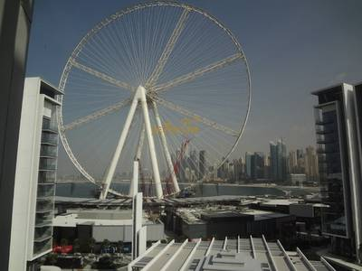 2 Bedroom Apartment for Rent in Bluewaters Island, Dubai - Dubai Eye View