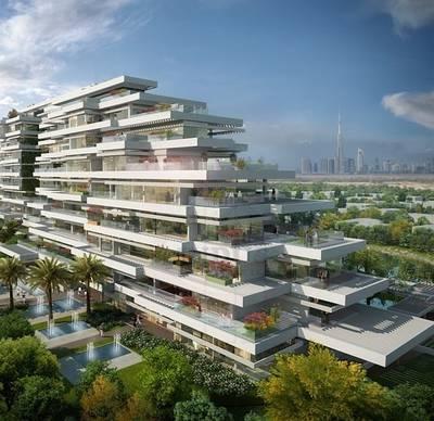 2 Bedroom Flat for Sale in Al Barari, Dubai - Al Barari Seventh Heaven 4Yr Post-Handover