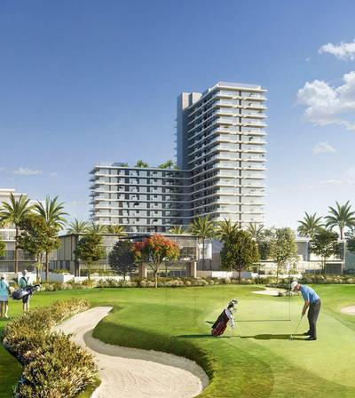 Floor for Sale in Dubai Hills Estate, Dubai - Full Floor Golf Suites w/ 100% DLD Waiver