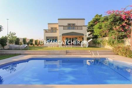 5 Bedroom Villa for Sale in Jumeirah Park, Dubai - Upgraded corner villa with swimming pool