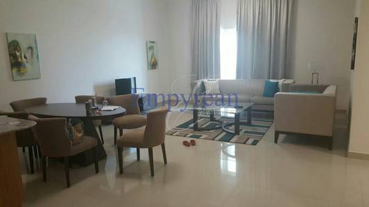 3 Bedroom Flat for Rent in Downtown Jebel Ali, Dubai - Amazing 3 Bedroom Fully Furnished near Metro With Maids Room and Pool View