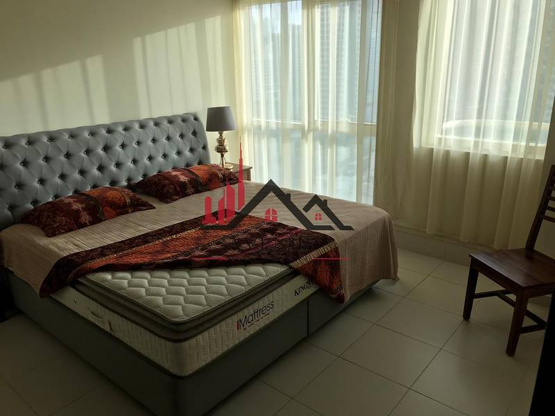 10 Furnished High Floor One Bedroom |Marina