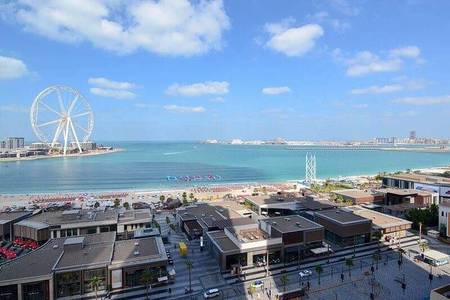 3 Bedroom Flat for Sale in Jumeirah Beach Residence (JBR), Dubai - DIRECT SEA VIEW -3BHK WITH MAID ROOM FOR SALE IN JBR