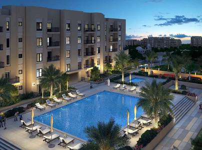 1 Bedroom Apartment for Sale in Remraam, Dubai - 11k monthly - Pay 34k down payment.