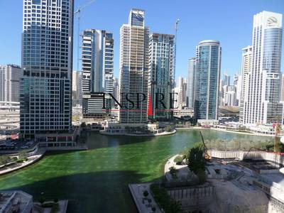 2 Bedroom Flat for Rent in Jumeirah Lake Towers (JLT), Dubai - 2BR - Furnished | Spacious Balcony | Lake View