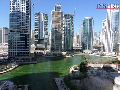 2 Bedroom Apartment for Sale in Jumeirah Lake Towers (JLT), Dubai - 2BR - Furnished | Vacant | Balcony - Lake View