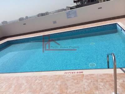 1 Bedroom Flat for Rent in Al Mamzar, Dubai - 1 Month Free (975 Sqft ) Ac Free 1Bhk wardrobes 2Bath Rent 48k/6chq