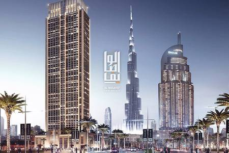 1 Bedroom Flat for Sale in Downtown Dubai, Dubai - Book for only 5% ! Burj Khalifa view  | 2%Free DLD