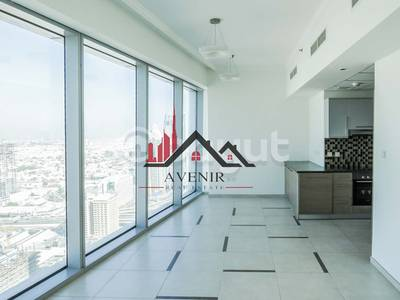 1 Bedroom Apartment for Rent in Downtown Dubai, Dubai - Largest One Bedroom|High Floor|Sea View