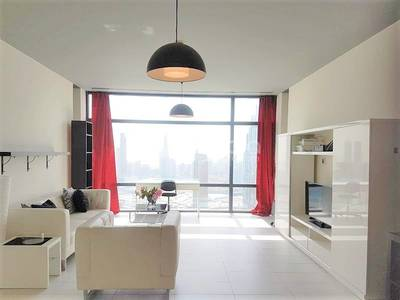 1 Bedroom Apartment for Sale in DIFC, Dubai - Furnished 1BR | Burj Khalifa View | Index Tower | DIFC