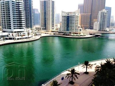 1 Bedroom Apartment for Rent in Dubai Marina, Dubai - Full Marina View - High Floor - Unfurnished
