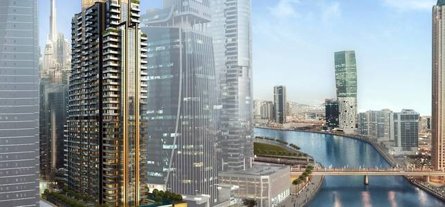 1 Bedroom Flat for Sale in Business Bay, Dubai - Book only  5% | DIRECT ACCESS TO BURJ KHALIFA & DUBAI WATER CANAL