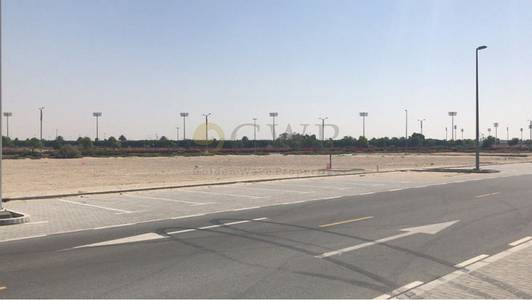 ارض سكنية  للبيع في ميدان، دبي - Corner Plot for Sale Direct from Owner Golf Course View