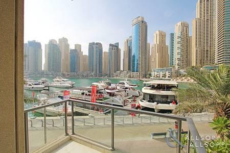 2 Bedroom Flat for Rent in Dubai Marina, Dubai - Furnished | Upgraded | Great Marina View