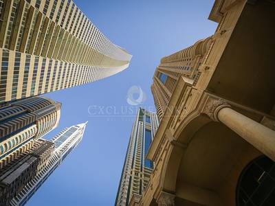 3 Bedroom Apartment for Sale in Dubai Marina, Dubai - A Huge duplex terrace apartment for sale