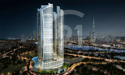 2 Bedroom Flat for Sale in Business Bay, Dubai - Unique 2 bedroom in a branded tower in Business Bay
